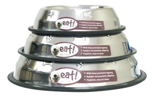 Eat! No Tip Stainless Steel Bowls