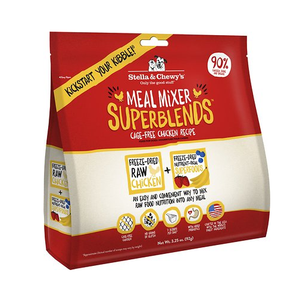 Stella & Chewy's Freeze-Dried Meal Mixers SuperBlends Chicken Recipe