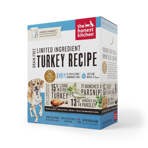 Honest Kitchen Limited Ingredient Turkey Recipe
