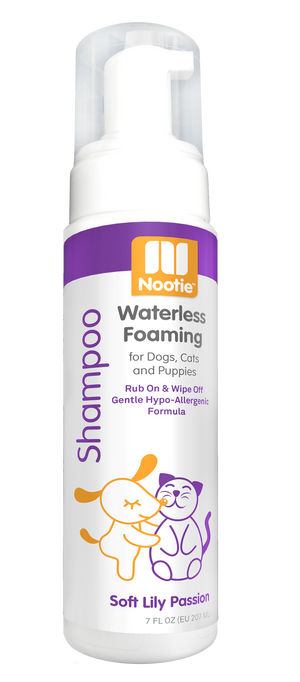 Nooties Waterless Foaming Shampoo Lilly Passion 7 oz.
