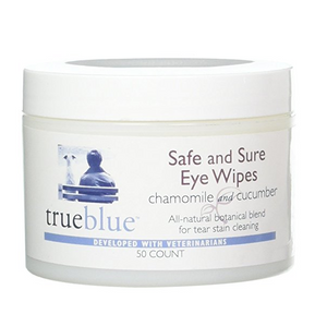 True Blue Safe & Sure Eye Wipes 50 ct.