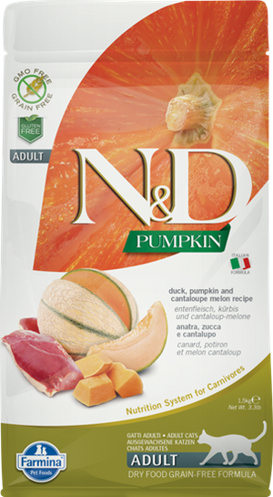 Farmina Cat N&D Pumpkin Duck 3.3 Lb.