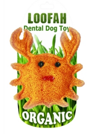 Hip Doggie Loofah Crab Small