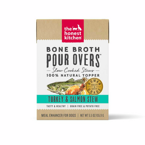 Honest Kitchen Bone Broth Pour Overs Turkey & Salmon Stew