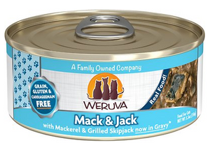 Weruva Cat Grain-Free Mack and Jack with Mackerel & Grilled Skipjack