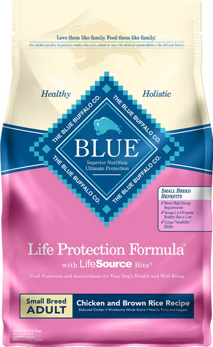Blue Life Protection Small Breed Adult Chicken & Rice
