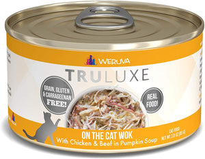 Weruva TruLuxe On The Cat Wok with Chicken & Beef in Pumpkin Soup