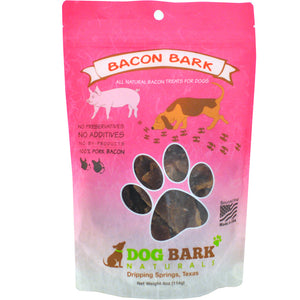 Dog Bark Naturals Bacon Bark 4 oz.