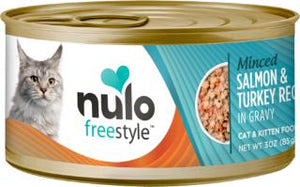 Nulo Cat Grain-Free Minced Salmon & Turkey in Gravy