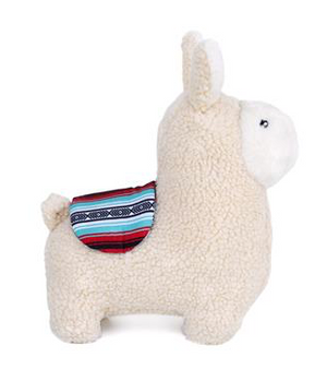 Zippy Paws Storybook Snugglerz Liam The Llama