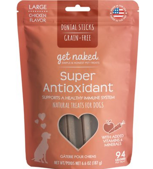 Get Naked Super Antioxidant Dental Chew Sticks