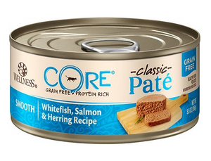 Wellness Core Cat Grain-Free Whitefish, Salmon & Herring Formula