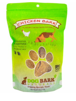 Dog Bark Naturals Chicken Bark 4 oz.