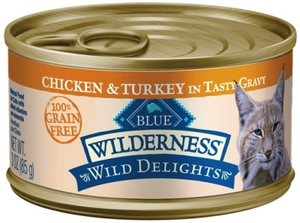 Blue Buffalo Wild Delights Grain-Free Chicken & Turkey