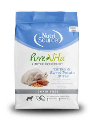 Pure Vita Grain-Free Turkey & Sweet Potato Entree