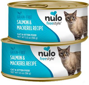 Nulo Cat Grain-Free Salmon & Mackerel Recipe