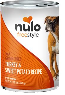 Nulo Grain-Free Turkey & Sweet Potato Recipe