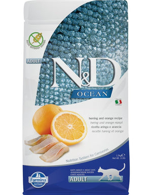 Farmina Cat N&D Ocean Herring & Orange