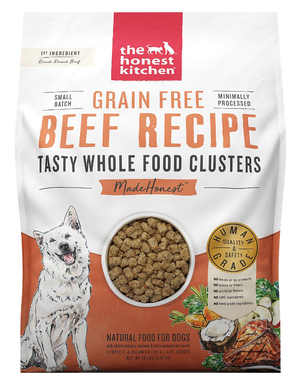 Honest Kitchen Clusters Grain Free Beef