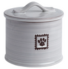 Ore Treat Jar Ceramic Handcrafted Paw