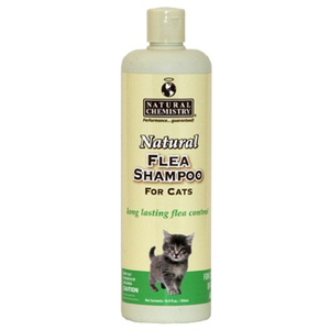 Natural Flea & Tick Shampoo Cat 16 oz.