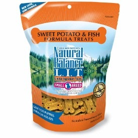 Natural Balance Limited Ingredient Treats Sweet Potato & Fish Formula