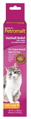 Sentry Hairball Relief Petromalt Fish Flavor 2oz.