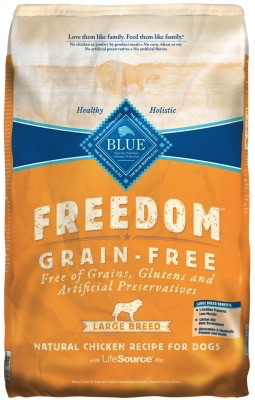 Blue Buffalo Freedom Large Breed Adult Grain Free 24 Lb.