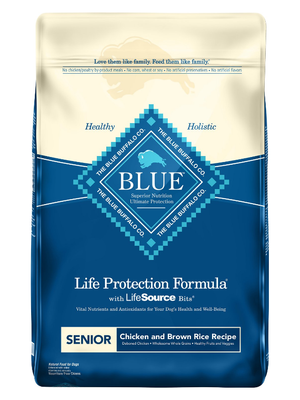 Blue Life Protection Senior Chicken & Rice