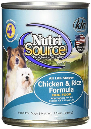 Nutri Source Chicken & Rice Formula