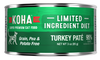 Koha Cat Limited Ingredient Turkey Pate