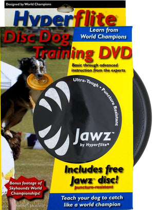 Hyperflite Disc Dogs Training Dvd With Jawz Disc