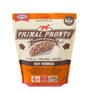 Primal Pronto Dog Raw Beef 4lbs.