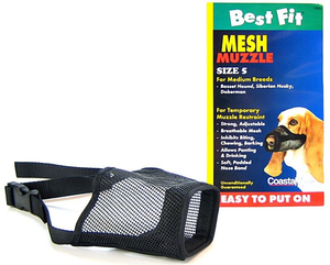 Coastal Adjustable Mesh Dog Muzzle