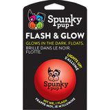 Spunky Pup Flash & Glow Ball Medium