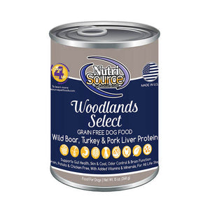 Nutri Source Grain-Free Woodlands Select