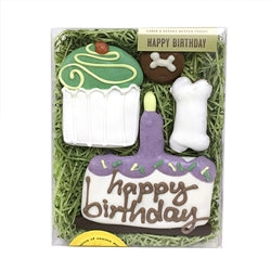 Birthday Cookie Gift Box White