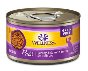 Wellness Adult Cat Turkey & Salmon Formula