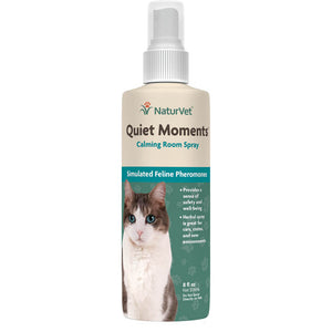 NaturVet Quiet Moments Cat Calming Spray 8oz.