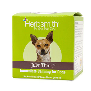 Herbsmith July Third Calming Chews for Dogs