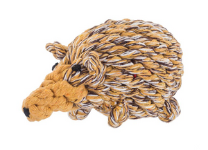 Jax & Bones Hedgehog Rope Toy 8""