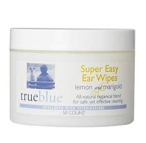 True Blue Super Easy Ear Wipes 50 ct.