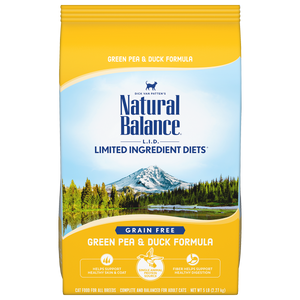 Natural Balance Cat Limited Ingredient Green Pea & Duck Formula