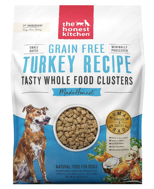 Honest Kitchen Clusters Grain Free Turkey