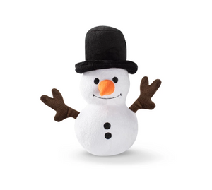 Fringe Snowman Ball Plush
