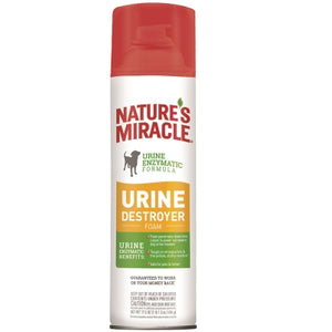 Natures Miracle Urine Destroyer Dog Foam 17.5 oz.