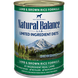Natural Balance Limited Ingredient Lamb & Brown Rice Formula