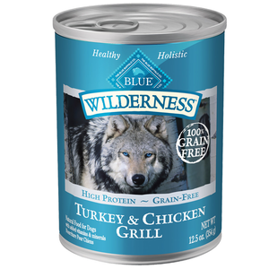 Blue Wilderness Turkey & Chicken Grill