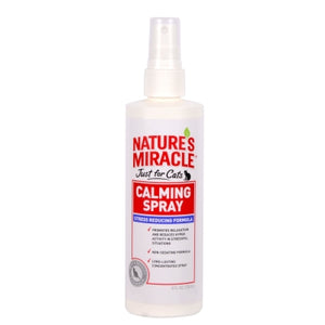 Natures Miracle  Just For Cats No Stress Calming Spray 8 oz.