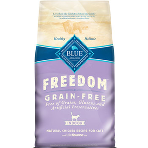 Blue Buffalo Freedom Indoor Adult Cat Recipe